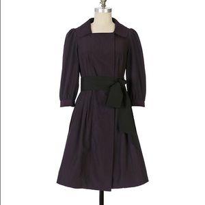 Anthropologie Floreat Purple Dear Watson Jacket